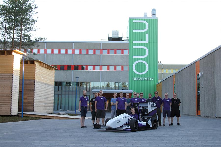 Henry Fordin Säätiö tukee Formula Student Oulua